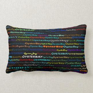 Oyster Bay Text Design I Lumbar Pillow