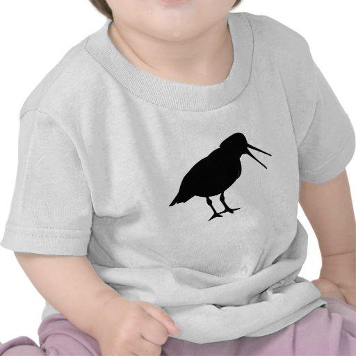 Oyster Catcher Silhouette Shirt