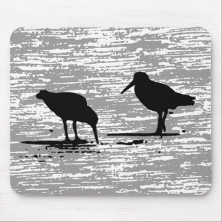 oyster catchers mouse pad