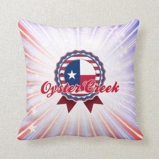 Oyster Creek TX Pillow