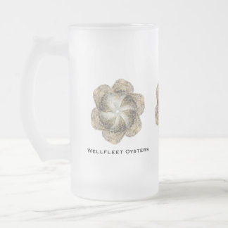 Oyster Flower Glass Mug - Design B