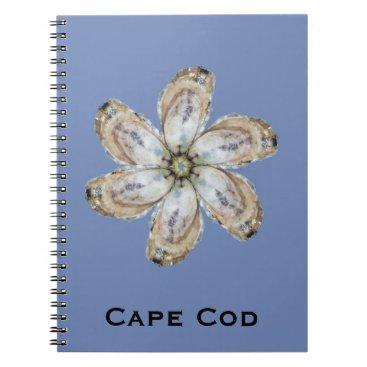 Oyster Flower Notebook - Design A Blue