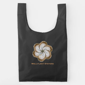 Oyster Flower Reusable Bag - Design C & B
