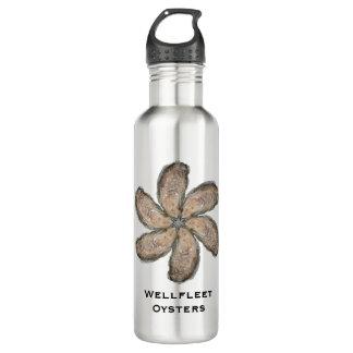 Oyster Flower Water Bottle - Design D