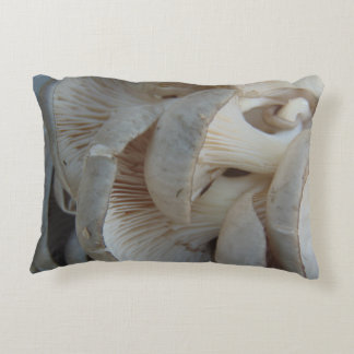 Oyster Mushrooms Accent Pillow