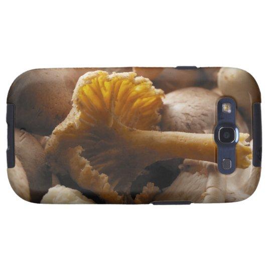 Oyster mushrooms, shiitake mushrooms, chestnut samsung galaxy s3 case