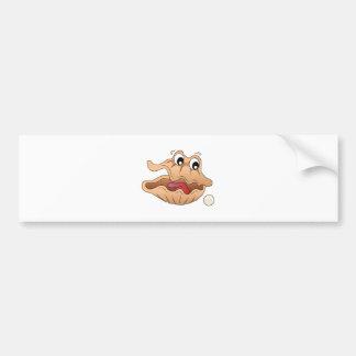 Oyster & Pearl Car Bumper Sticker