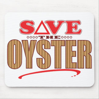 Oyster Save Mouse Pad