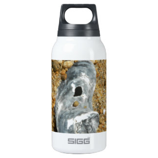 Oyster Shell in Pebble Sand Insulated Water Bottle