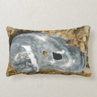Oyster Shell in Pebble Sand Pillow