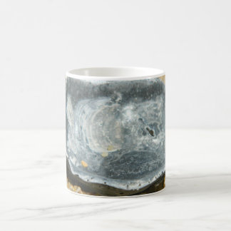 Oyster Shell in The Sand Coffee Mug