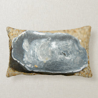 Oyster Shell in The Sand Throw Pillow