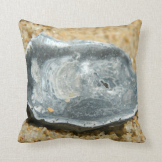 Oyster Shell in The Sand Pillows