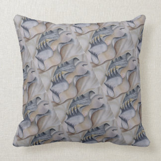 OYSTER SHELL WITH PEARL THROW PILLOW