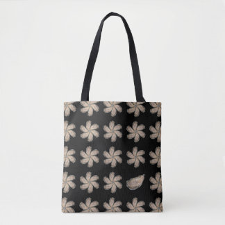 Oyster Tote Bag - Design D