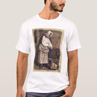 Oyster Woman, 1843-47 (salt paper print from calot T-Shirt