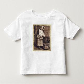 Oyster Woman, 1843-47 (salt paper print from calot Toddler T-shirt