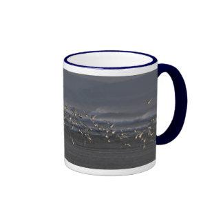Oystercatchers Flying Mug