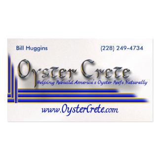 OysterCrete A.C. Tarjetas De Visita