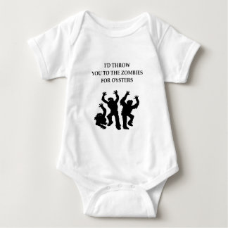 oysters baby bodysuit