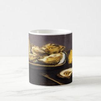 Oysters - Édouard Manet Classic White Coffee Mug