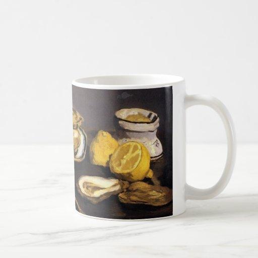 Oysters - Édouard Manet Mug