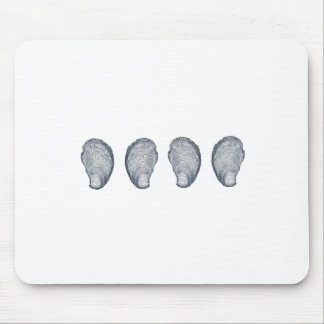 Oysters Logo Mouse Pad