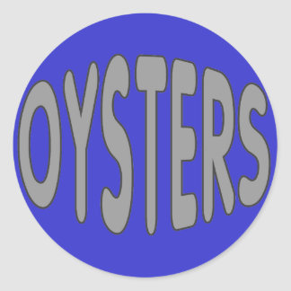 Oysters Stickers