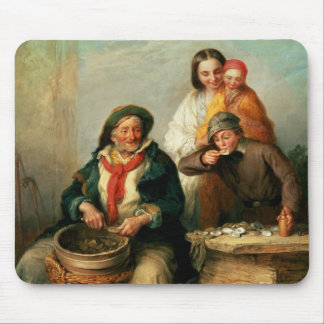Oysters, Young Sir? Mousepad