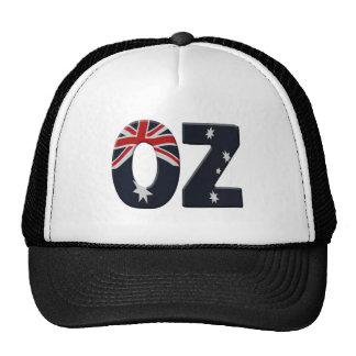 Oz + Australia flag Trucker Hat