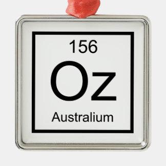 Oz Australium Element Metal Ornament