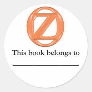 Oz Bookplate