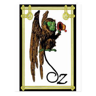 Oz - Monkey Business Postcard