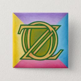 Oz Pinback Button