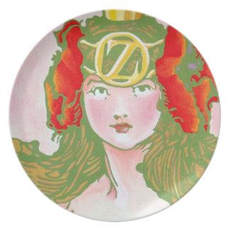 Oz Plate - Ozma