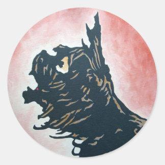 Oz Sticker - Toto