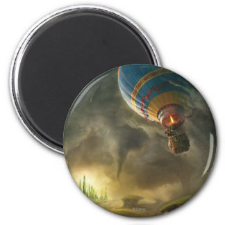 Oz: The Great and Powerful Poster 1 2 Inch Round Magnet