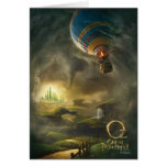 Oz: The Great and Powerful Poster 1 Greeting Cards