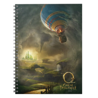Oz: The Great and Powerful Poster 1 Note Books