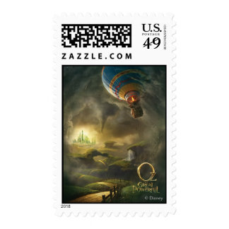 Oz: The Great and Powerful Poster 1 Postage Stamp