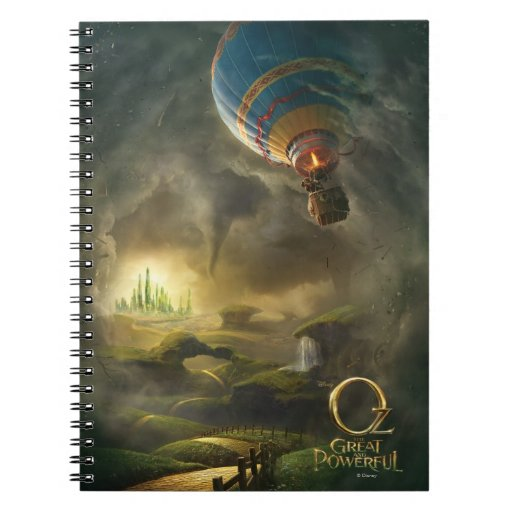 Oz: The Great and Powerful Poster 1 Spiral Note Books