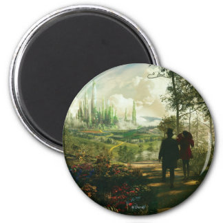 Oz: The Great and Powerful Poster 2 2 Inch Round Magnet