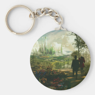 Oz: The Great and Powerful Poster 2 Basic Round Button Keychain