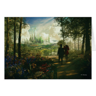 Oz: The Great and Powerful Poster 2 Greeting Card
