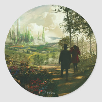 Oz: The Great and Powerful Poster 2 Classic Round Sticker