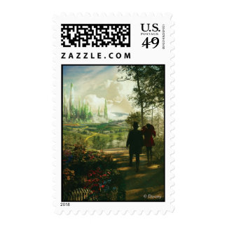 Oz: The Great and Powerful Poster 2 Postage Stamp