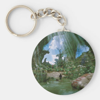 Oz: The Great and Powerful Poster 3 Basic Round Button Keychain