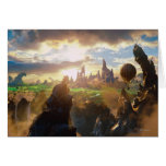 Oz: The Great and Powerful Poster 4 Greeting Cards