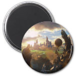 Oz: The Great and Powerful Poster 4 Magnets