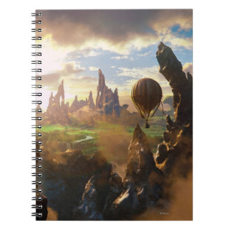 Oz: The Great and Powerful Poster 4 Spiral Notebook